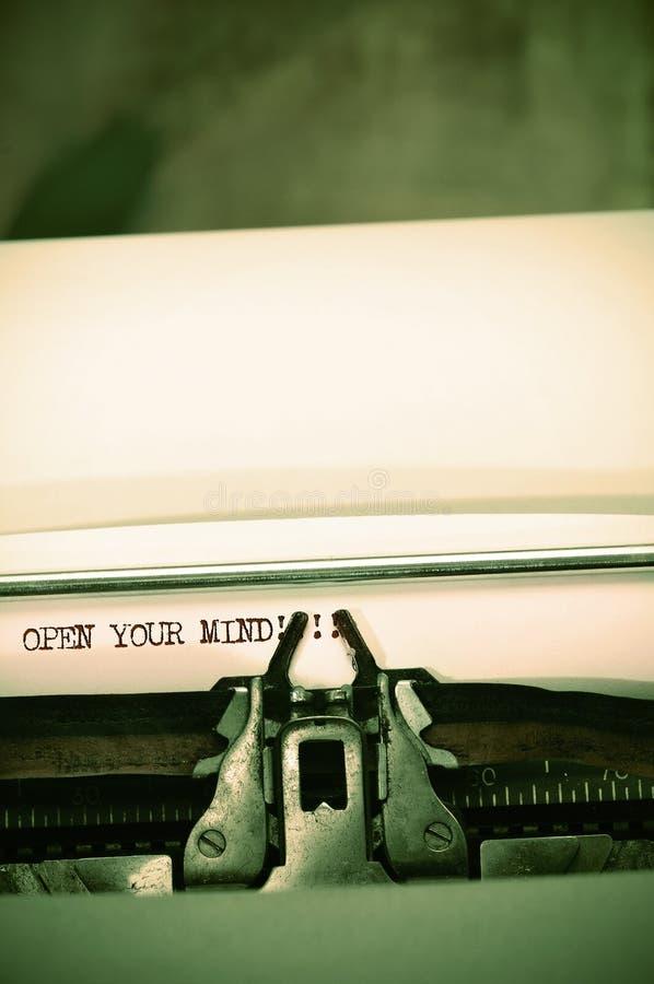 umysł otwiera twój zdjęcie royalty free