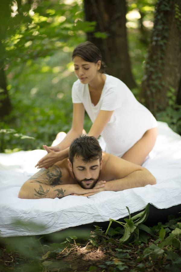 Umysłowy i ciało relaksuje zdjęcia stock