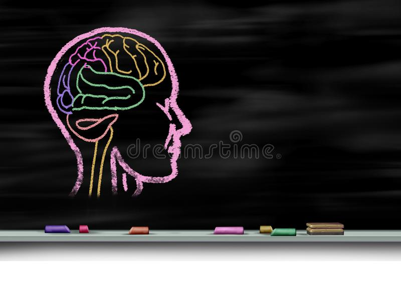 Umysłowy opieki zdrowotnej pojęcie royalty ilustracja