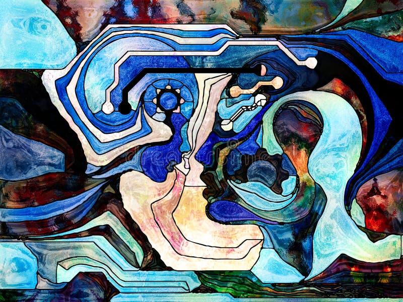 Umysłu ściąganie ilustracji