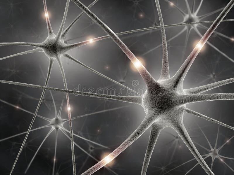umysłu neuronów władza ilustracji