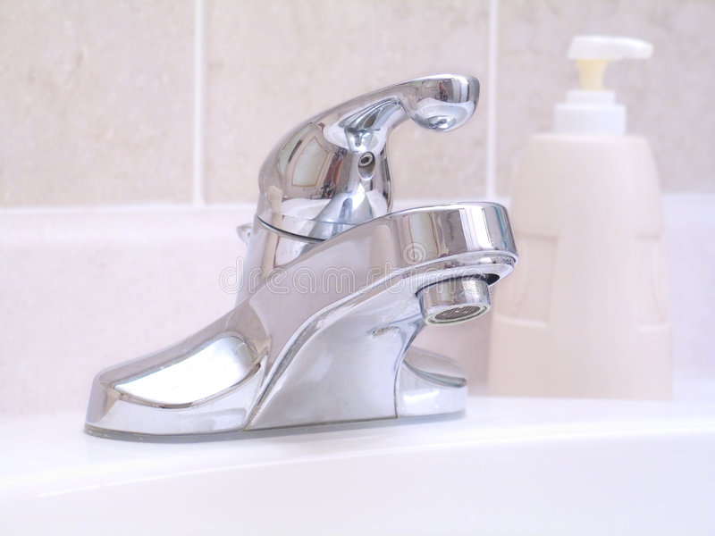 umywalkę w łazience fotografia stock