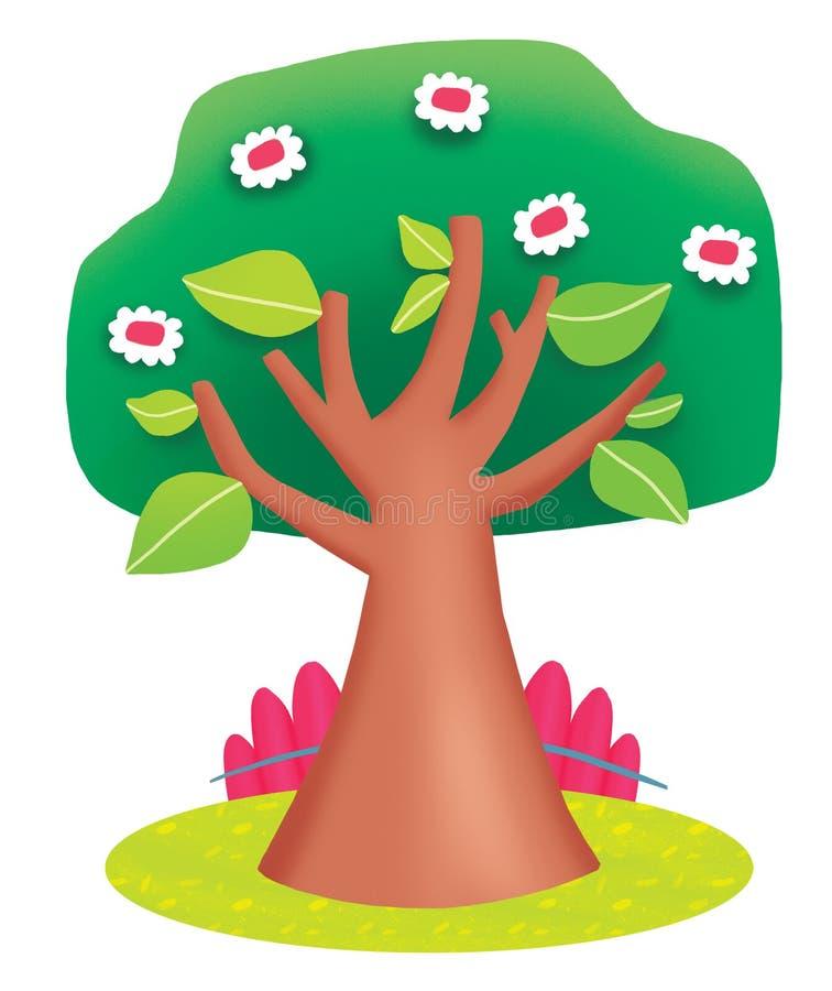 Un árbol en primavera foto de archivo libre de regalías
