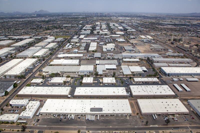 Un área industrial imagen de archivo libre de regalías