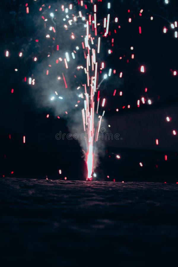 un échantillon des feux d'artifice du gil de San image libre de droits