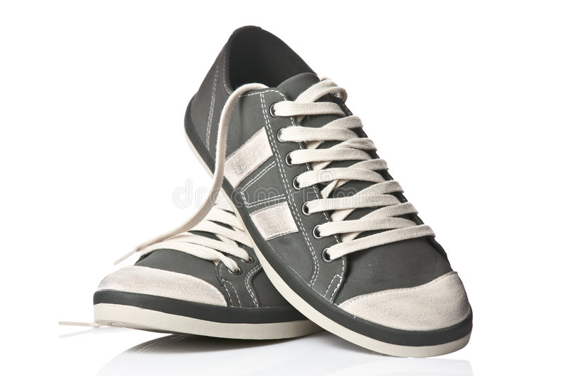 Download Un Accoppiamento Delle Scarpe Da Tennis Generiche Immagine Stock - Immagine di atletico, accoppiamento: 3882729
