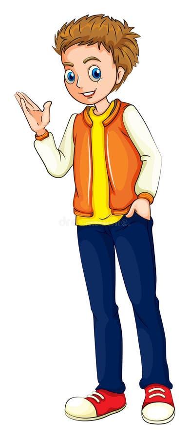 Un adulto alto illustrazione vettoriale