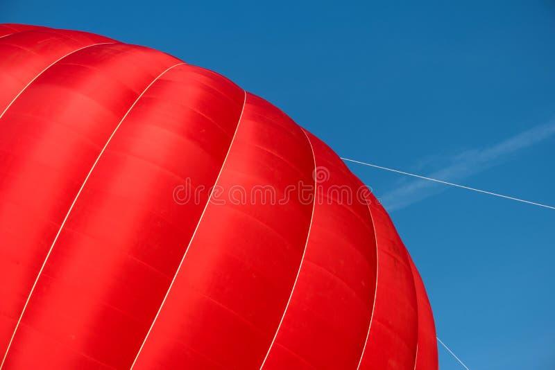Un aerostato rovente iniziante fotografie stock