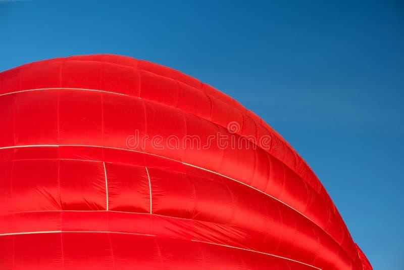 Un aerostato rovente iniziante immagini stock