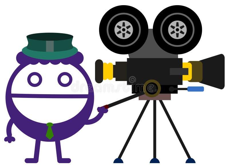 Un affare di film illustrazione vettoriale