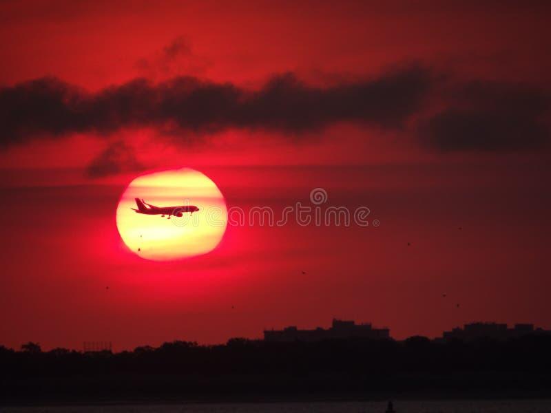 Un'alba da ricordarsi fotografie stock