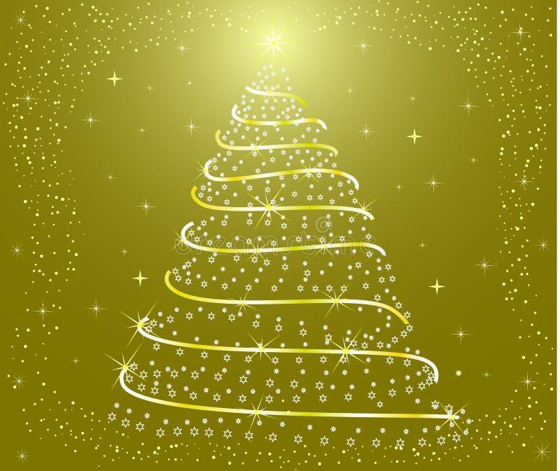 Un albero di Natale royalty illustrazione gratis