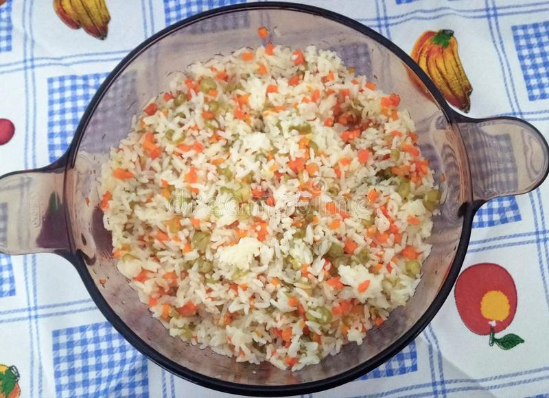 Un aliment grec de riz photo libre de droits