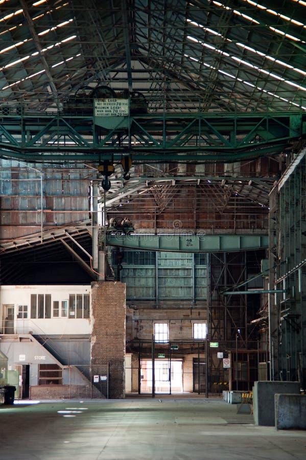 Un almacén vacío imagen de archivo