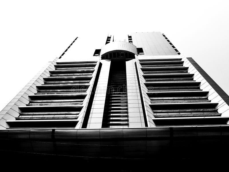 Un'alta costruzione in Bangladesh immagine stock libera da diritti