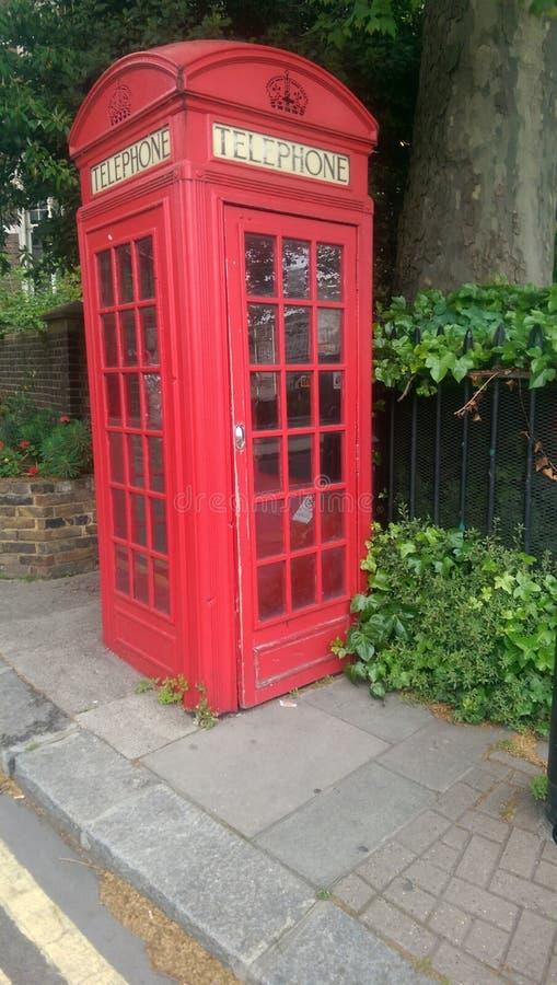 Un'altra cabina telefonica britannica immagine stock libera da diritti