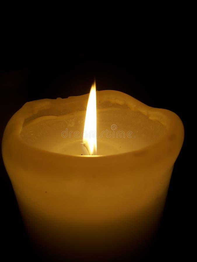 Un'altra candela fotografia stock libera da diritti