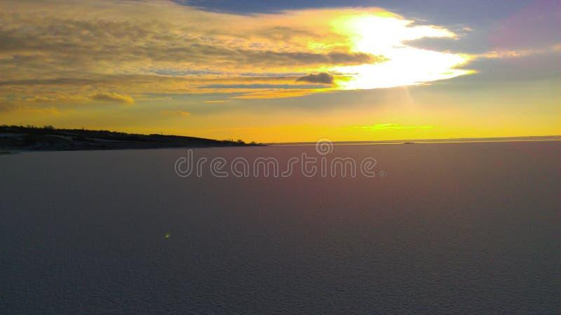 Un'altra foto con il tramonto immagine stock libera da diritti