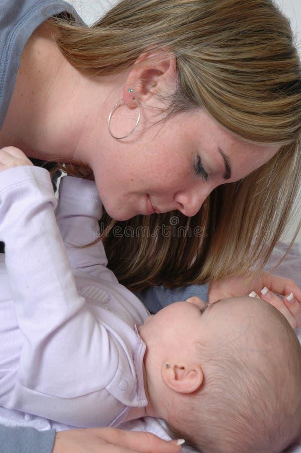 Un amore di madri fotografia stock