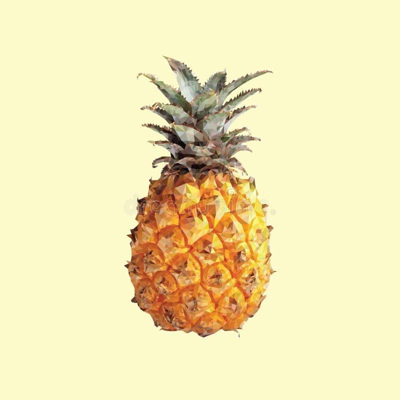 Un ananas immagine stock libera da diritti