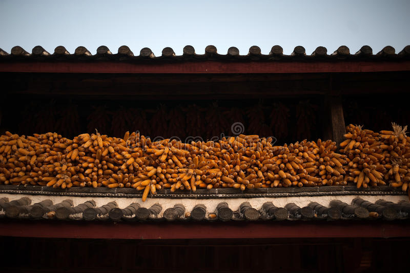 Un angolo della città, in Lijiang immagine stock libera da diritti