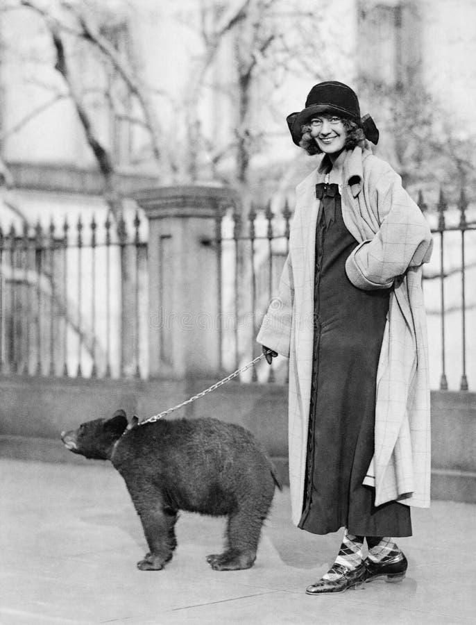 Un animal doméstico bastante inusual (todas las personas representadas no son vivas más largo y ningún estado existe Garantías de fotos de archivo