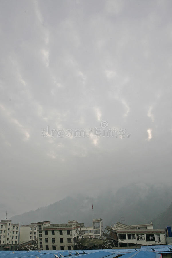 Un anno dopo il terremoto del Sichuan fotografie stock