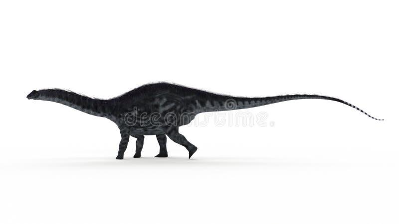 Un apatosaurus ilustración del vector