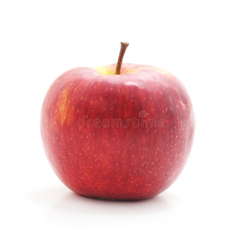 Un Apple rouge photo stock