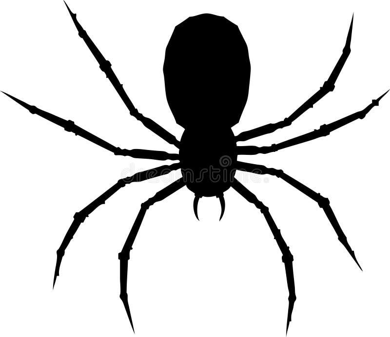 Un arachnide. illustration de vecteur