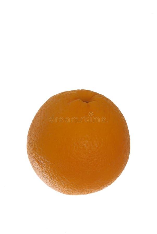 Un arancio perfetto fotografia stock libera da diritti