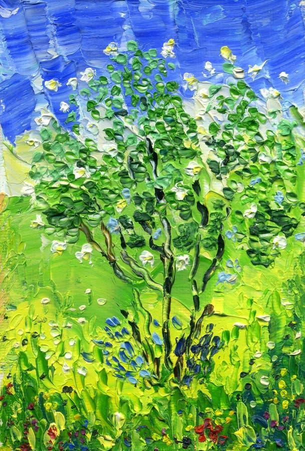 Un arbusto de un jardín blanco subió libre illustration
