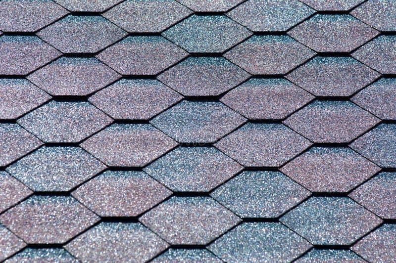 Un'assicella dell'asfalto è un tipo di assicella del tetto o della parete che usa la a immagini stock libere da diritti