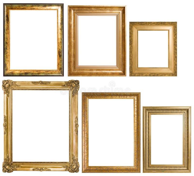 Un assortiment des cadres de tableau classiques photo stock