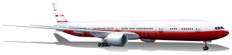 Un aterrizaje plano ilustración del vector