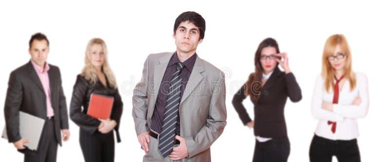 Un attraente, squadra di affari immagini stock