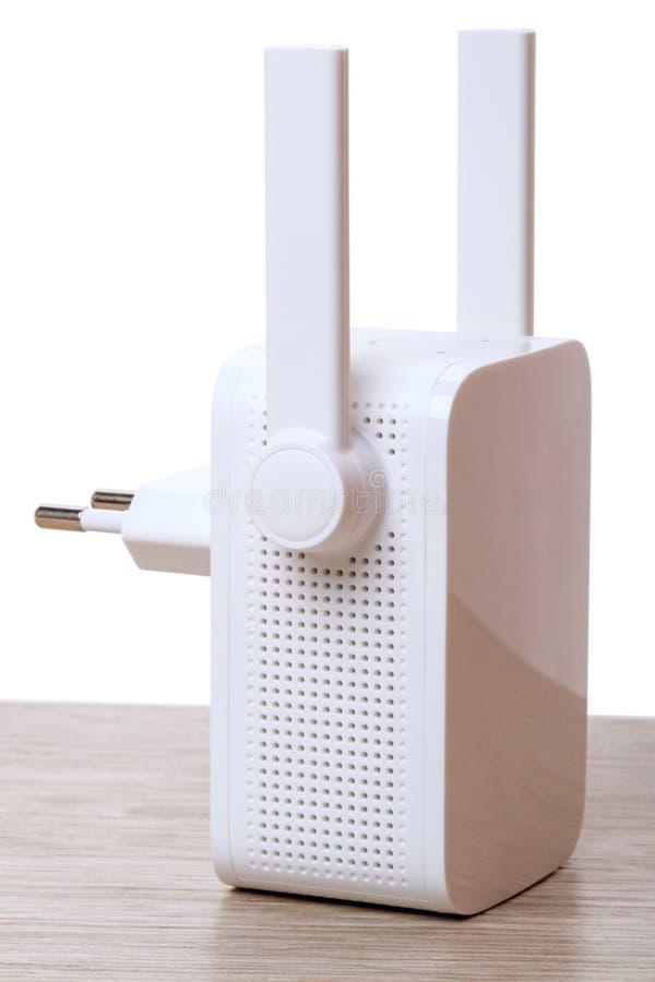 Un aumentador de presión de la señal del Wi-Fi fotografía de archivo