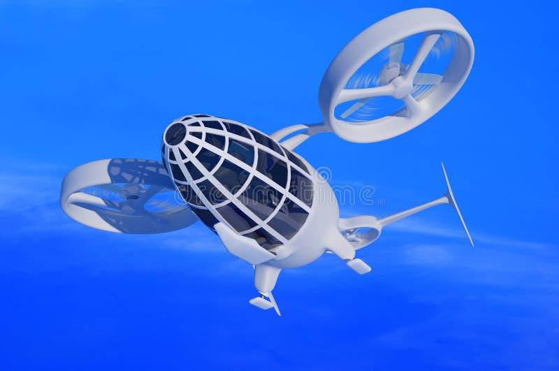 Un avion de passagers illustration libre de droits