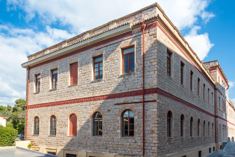 Un bâtiment à Athènes photo libre de droits