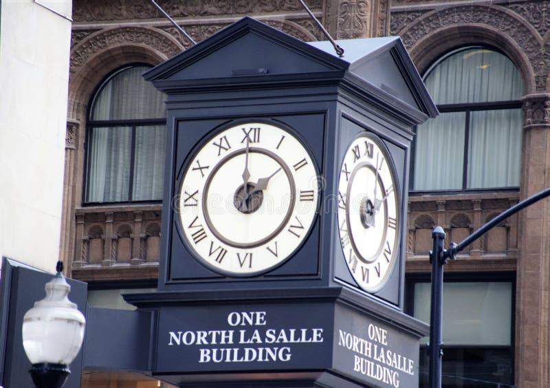 Un bâtiment du nord de LaSalle, Chicago l'Illinois photos stock