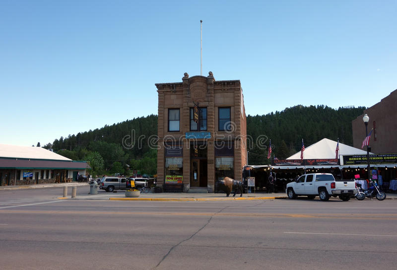 Un bâtiment historique dans le Dakota du Sud photos libres de droits