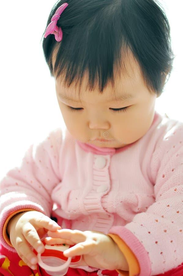 Un bébé asiatique photo libre de droits