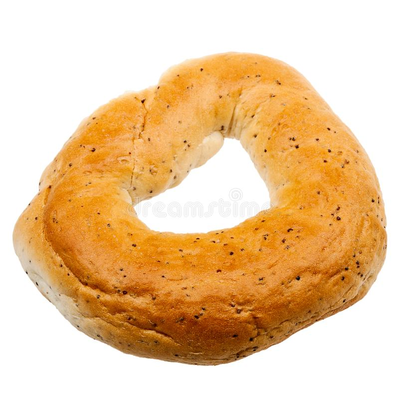 Un bagel frais photo libre de droits
