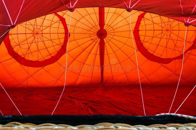 Un ballon à air chaud images libres de droits