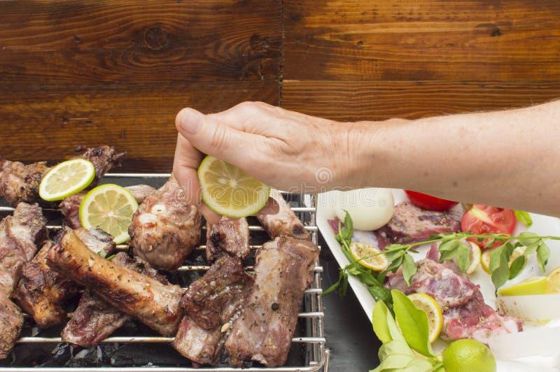 Un barbecue photo stock