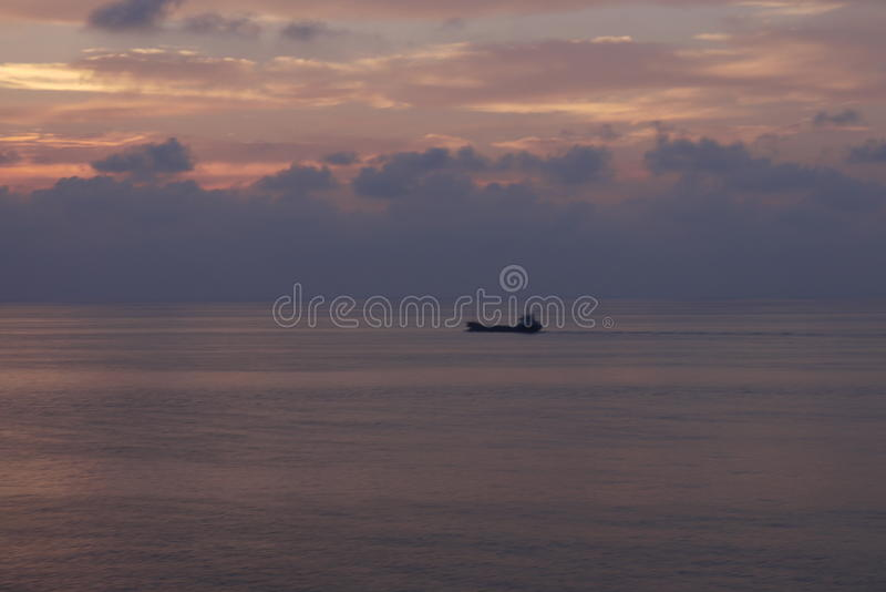 Un barco de cruceros foto de archivo libre de regalías