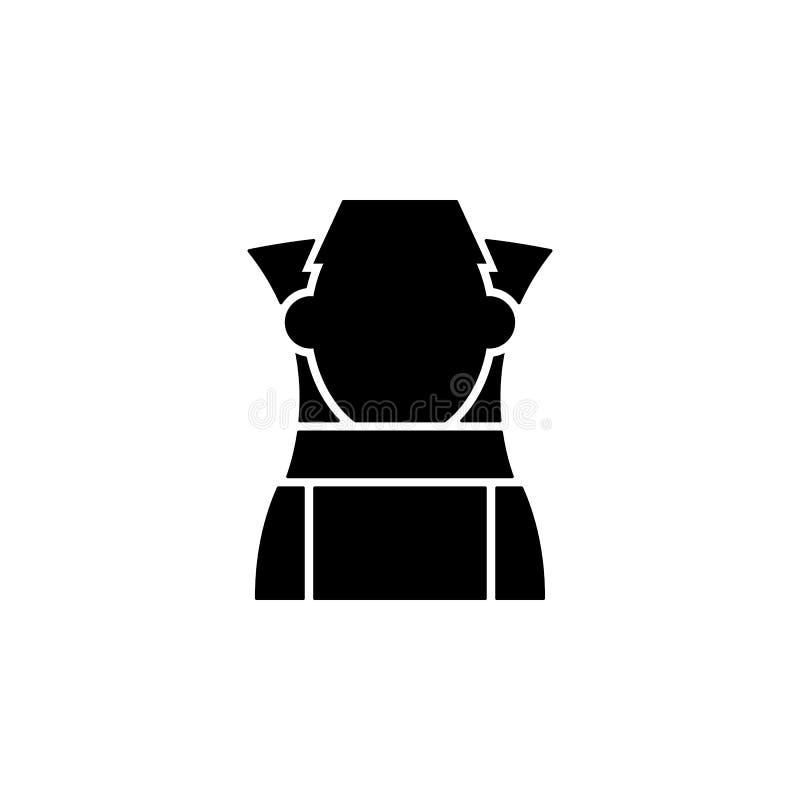 un barilotto dell'icona del miele Elemento dell'icona di apicoltura Icona premio di progettazione grafica di qualità Segni ed ico illustrazione di stock