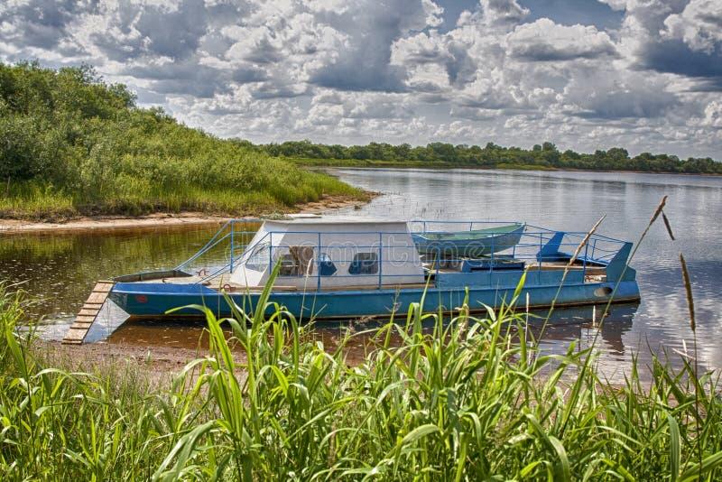Un bateau photo libre de droits
