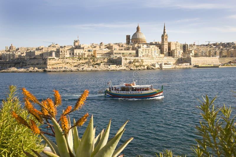 La Valette, Malte. photo stock