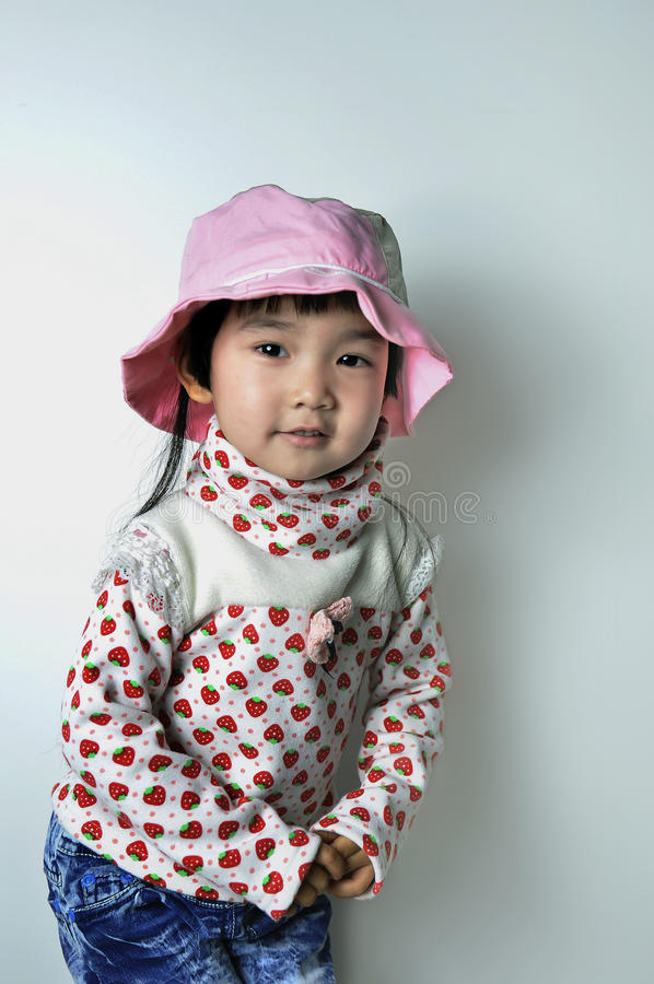 Un bebé chino encantador foto de archivo libre de regalías